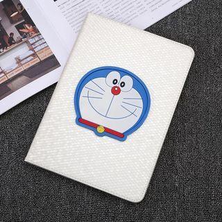 Ipad shell protector mini123 white shell Doraemon