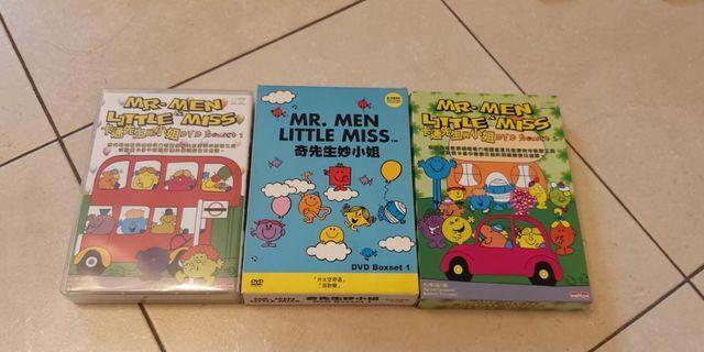 All - Mr. Men & Little Miss DVD