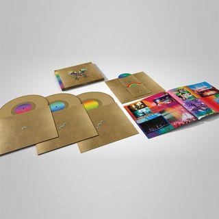 全新Coldplay黑膠唱片+紀錄片DVD Butterfly Package