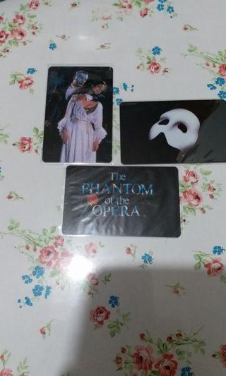 The Phantom of the Opera電話卡