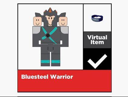[ROBLOX] Bluesteel Warrior Toy Code