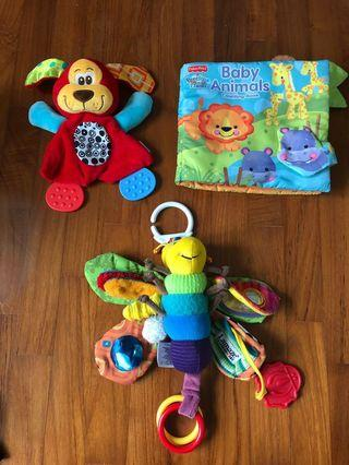Baby Toys Touchy-feely bundle