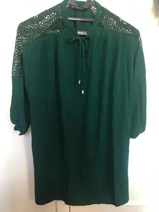 Zara long top