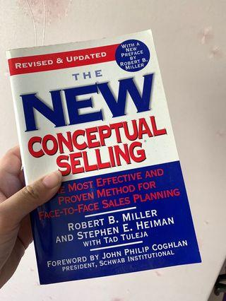 🚚 The New Conceptual Selling book