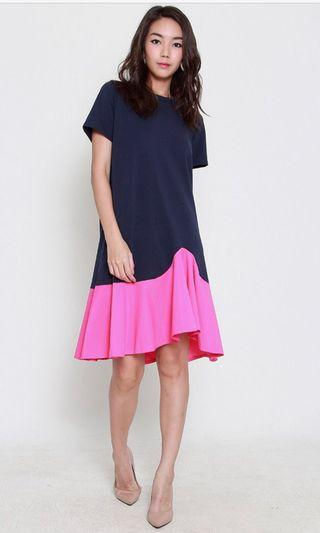 [NEW] Tracyeinny navy pink dress