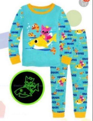 🚚 Baby shark tokidoki and Elsa grow in the dark pajamas