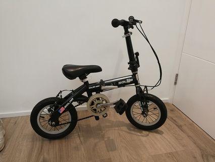"""摺疊單車 (兒童適用) 12.5"""" Foldable bicycle for kids"""