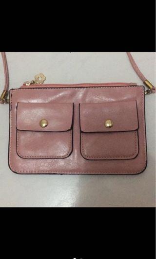 Pink Small Sling Bag