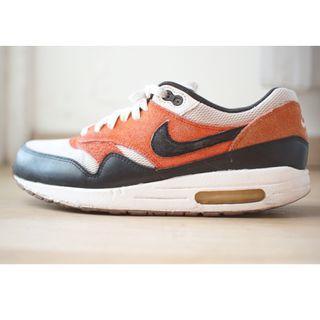Nike Air Max 1 Essential 'White Gamma Orange' Custom