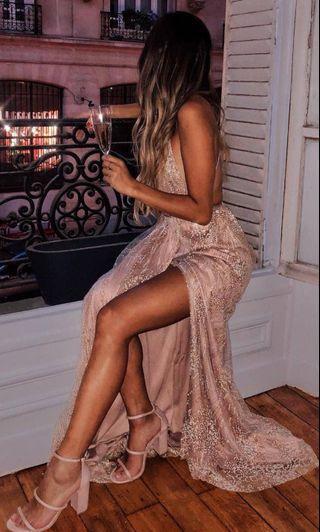 GORGEOUS Sparkly Maxi Dress