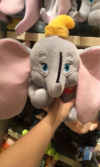 Dumbo 小飛象 公仔 代購 正版 disney Stella lou duffy 熊 shellie may gelatoni 購自香港迪士尼樂園 HKDisneyland 陪訓公仔