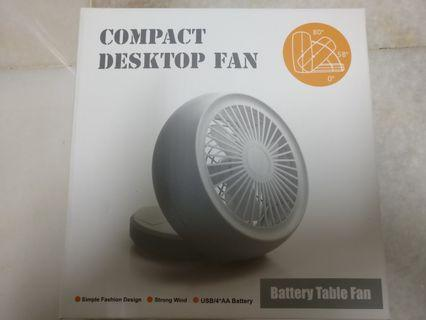 Compact Desktop Fan
