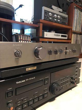 Sony stereo preamplifier TA-E86B