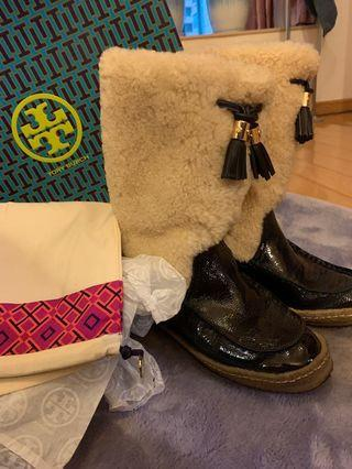 Tory Burch boots size 37
