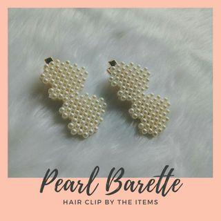 Pearl Barette Hair Clip/Pin Accessories