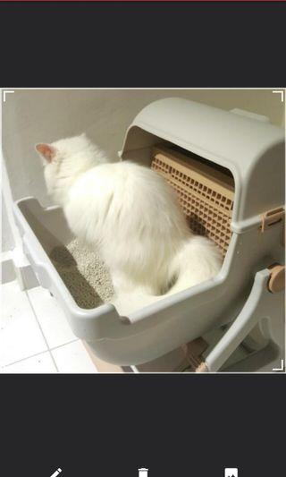 🚚 Cat litter tray (easy cleaning)
