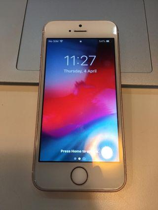 Iphone SE 64GB myset (rose gold)