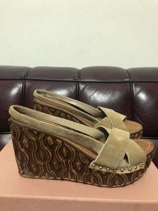 Miu miu shoe used Sz 38