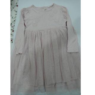 Long-Sleeved Tutu Girl Dress  12-18mths by Next UK