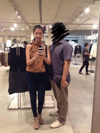 Shopatvelvet halter neck