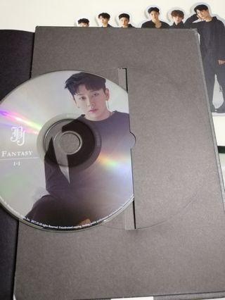 JBJ 1st Mini Album [FANTASY] I-I Black Ver CD+photo book