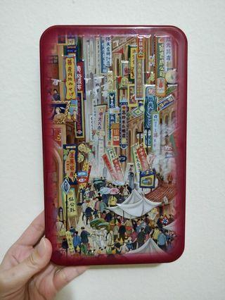 Empty cookies tin from Taiwan