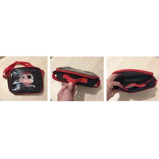 Kid bag with 1 handle and 1 shoulder strap