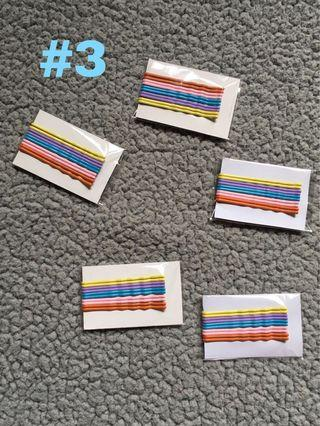 COLORED BOBBY PIN