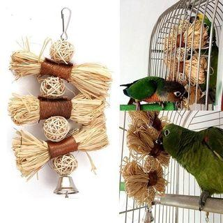 Natural Parrot Toy