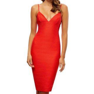 "Kookai ""Emily strap"" dress in rosetta size 1 *bnwt*"