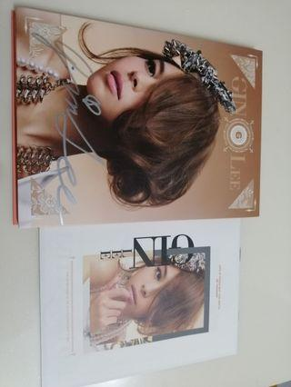 GIN Lee CD (親筆簽名版)