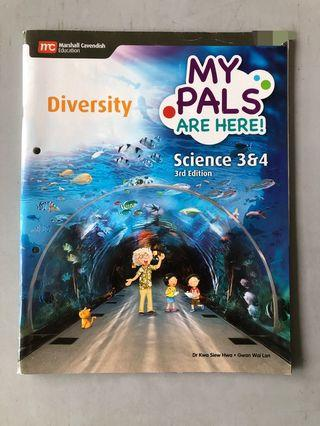 🚚 My Pals Are Here Diversity Science 3 & 4 3rd Edition