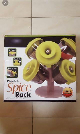 🚚 Spice organiser (pop up)