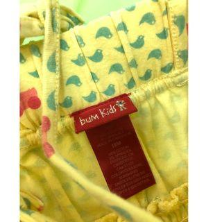 Bum kids 18m jumpsuit yellow             (tommy hilfiger,mothercare,jcrew, crewcuts, chickeeduck, kingcow, carter, elle, crewcuts, zara kids, baby gap, gap, disney, polo)