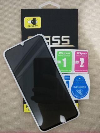 Xiaomi Redmi Note 7 Full Screen Privacy Tempered Glass