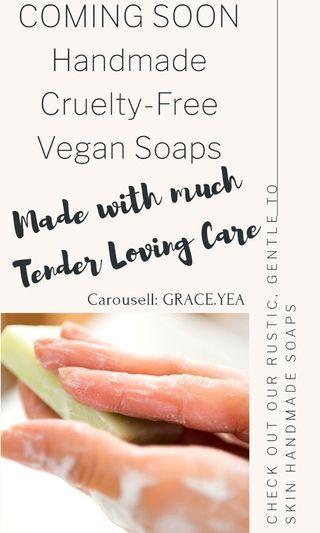 Handmade Vegan Cruelty Free Soaps