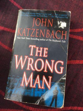 The Wrong Man by John Katzenbach