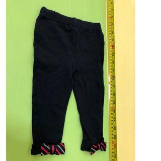 Ralph Lauren 12M 80cm leggings pants      (tommy hilfiger,mothercare,jcrew, crewcuts, chickeeduck, kingcow, carter, elle, crewcuts, zara kids, baby gap, gap, disney, polo) 1