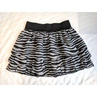 日本品牌青春少女雪紡短裙 Printed cute chiffon skirt (NEW)