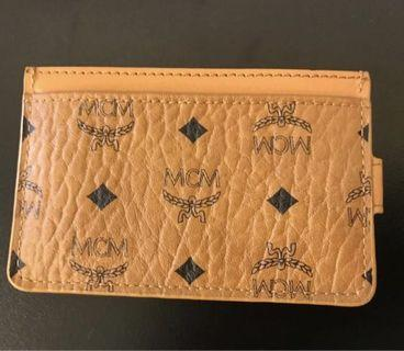 🚚 Authentic MCM card holder with strap