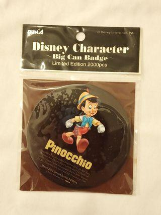 小木偶 pinocchio big can badge