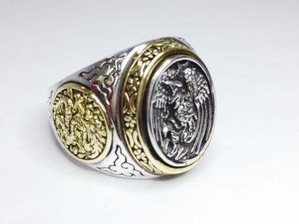 京和珠寶工坊-925純銀 青龍 朱雀 戒指