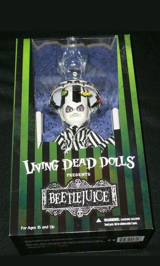 Living Dead Dolls LDD Beetlejuice 活死人娃娃