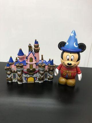 Disney- 堡壘磁石及紀念版米奇