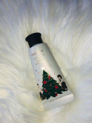 Innisfree Christmas edition hand cream