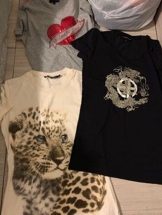 $200 for 3!!! D&G, Armani Tee Tops $200 for 3