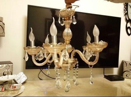 🚚 水晶燈/蠟燭燈泡6燈