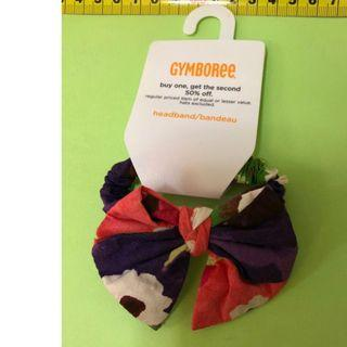 GYMBOREE hair accessories               (tommy hilfiger,mothercare,jcrew, crewcuts, chickeeduck, kingcow, carter, elle, crewcuts, zara kids, baby gap, gap, disney, polo)