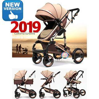 Wisesonle European style of pram/stroller/2019/new design