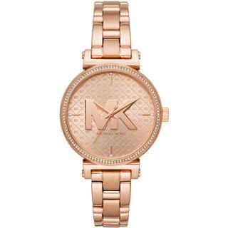 Michael Kors Sofie Rose Gold Tone Ladies Watch